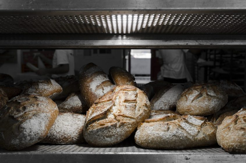 לחם שאור מלא של הלחם של תומר (צילום: דניאל חנוך)