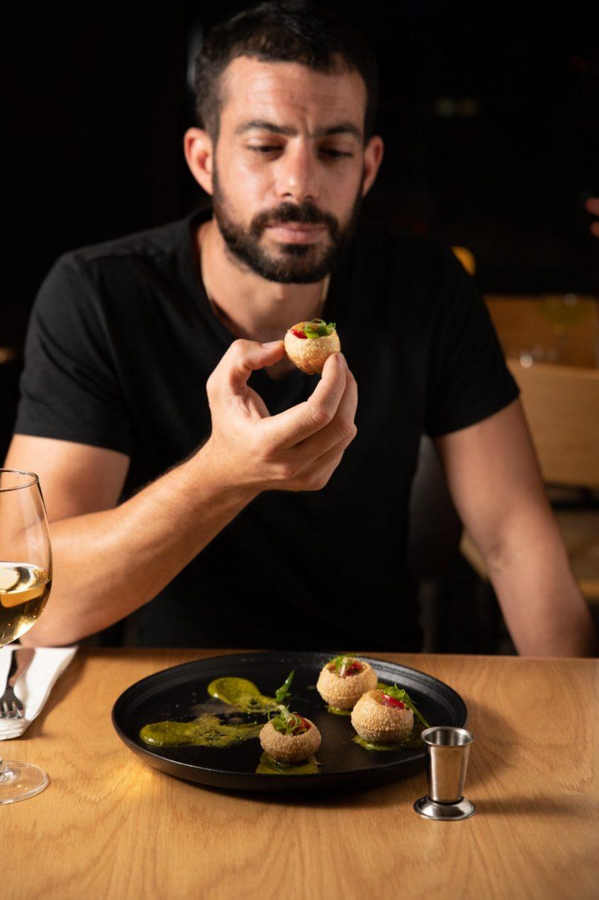 """שיאון פאר, בעלי מסעדת """"דה ז'בו"""" (צילום: מאיר יזדי)"""