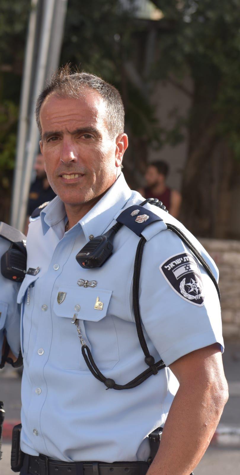 סגן ניצב יניב מויאל, מפקד תחנת שפט (צילום: דוברות המשטרה)