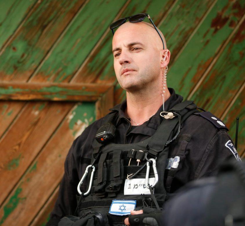 סגן ניצב רונן חזוט, מפקד תחנת שלם (צילום: דוברות המשטרה)