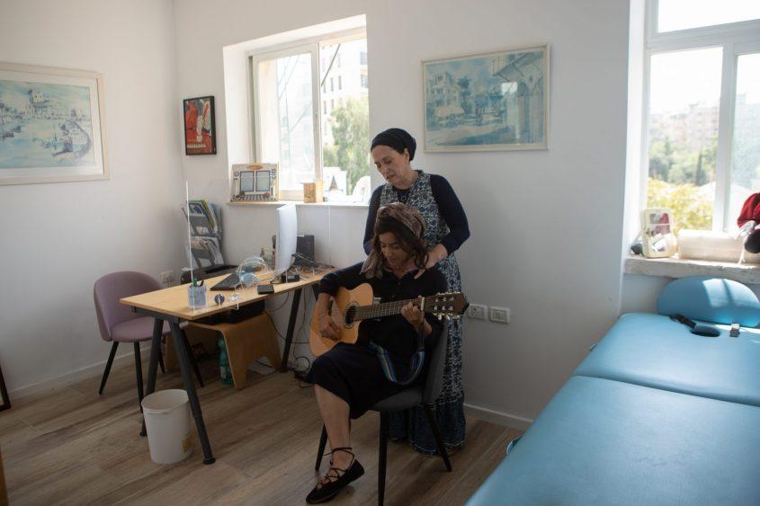רחל חזן, קלינאית תקשורת בירושלים (צילום: יובל כהן אהרונוב)