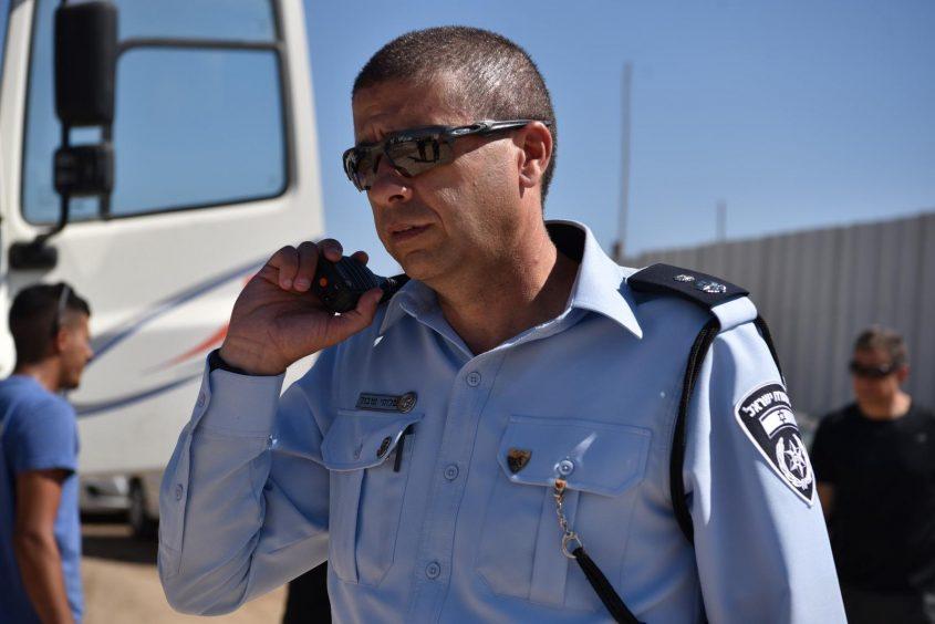 סגן ניצב שלומי טובול, מפקד תחנת בית שמש (צילום: דוברות המשטרה)