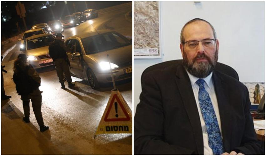 אליעזר ראוכברגר, סגר לילי בירושלים (צילומים: פרטי, אמיל סלמן)