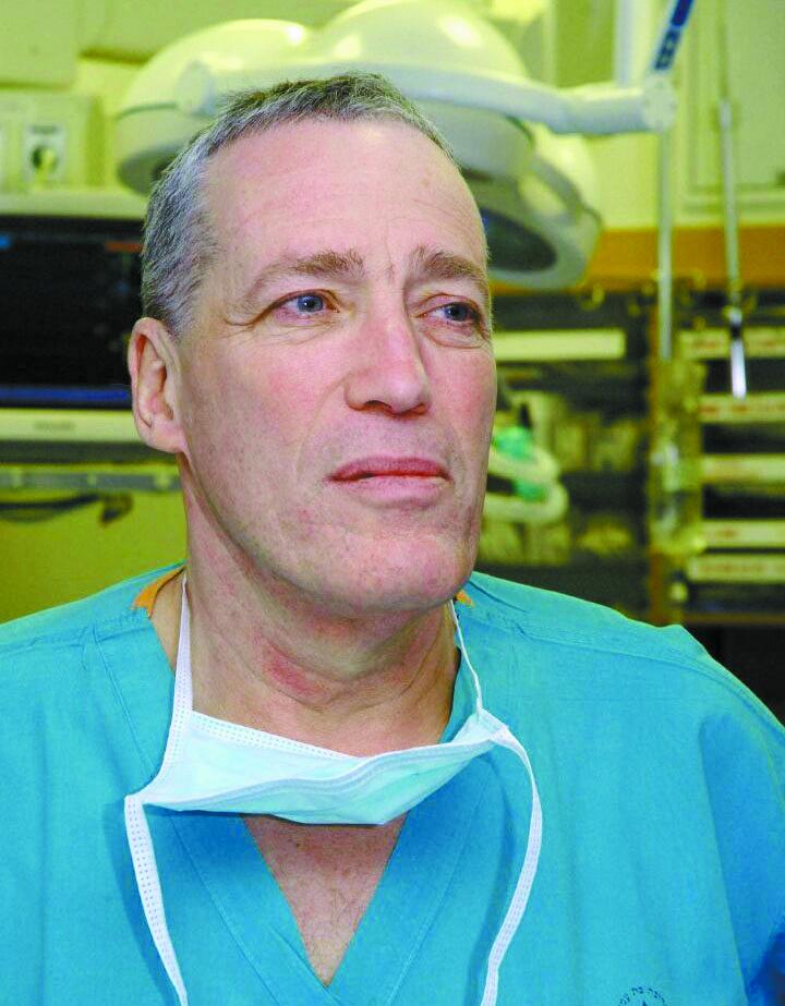 פרופ' אבי ריבקינד (צילום: דוברות הדסה)