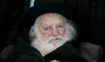 הרב חיים קנייבסקי (צילום: אוליבייה פיטוסי)