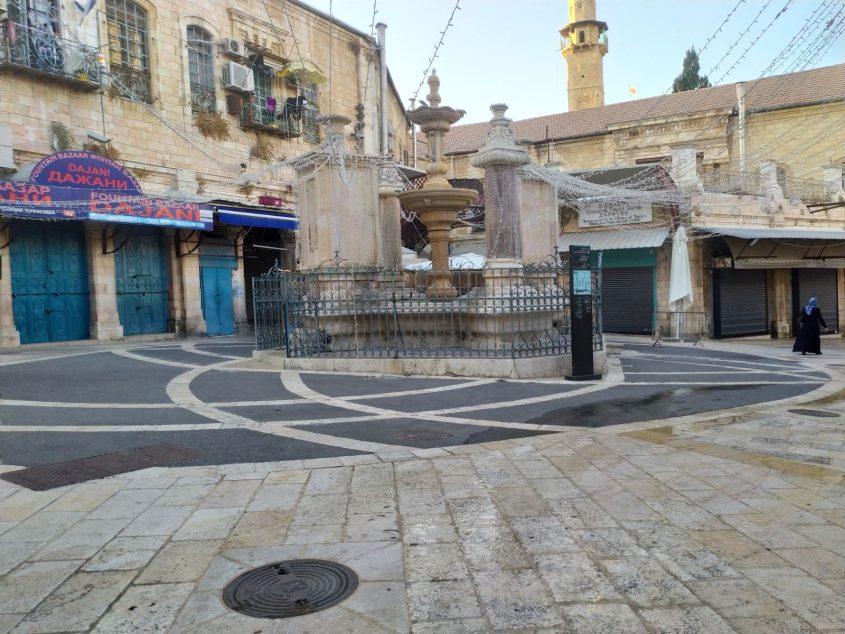 העיר העתיקה - חגי תשרי 2020 בזמן סגר הקורונה (צילום: שלומי הלר)