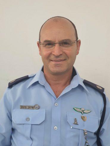 """רב פקד אייזק סימון, ראש מחלק הונאה בימ""""ר ירושלים (צילום: דוברות המשטרה)"""
