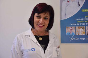 """גלי וייס, סמנכ""""לית סיעוד במרכז הרפואי שערי צדק (צילום: דוברות שערי צדק)"""
