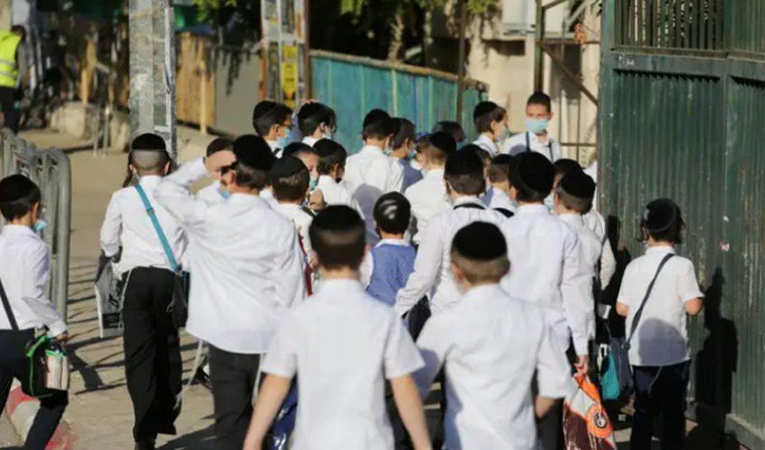 פתיחת תלמוד תורה הבוקר בירושלים (צילום: אמיל סלמן)