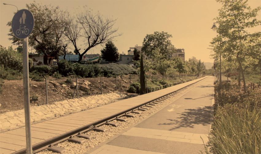 פארק המסילה (צילום: אוליבייה פיטוסי)