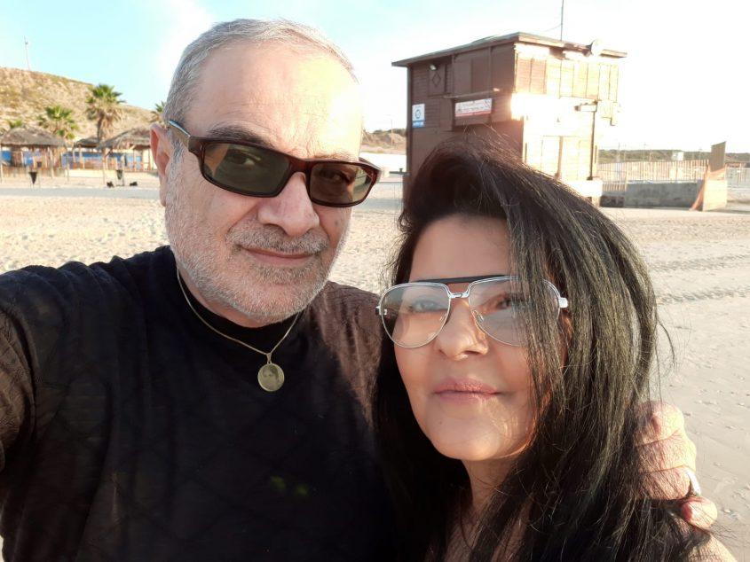 אתי לוי וישראל בונדק (צילום: פרטי)