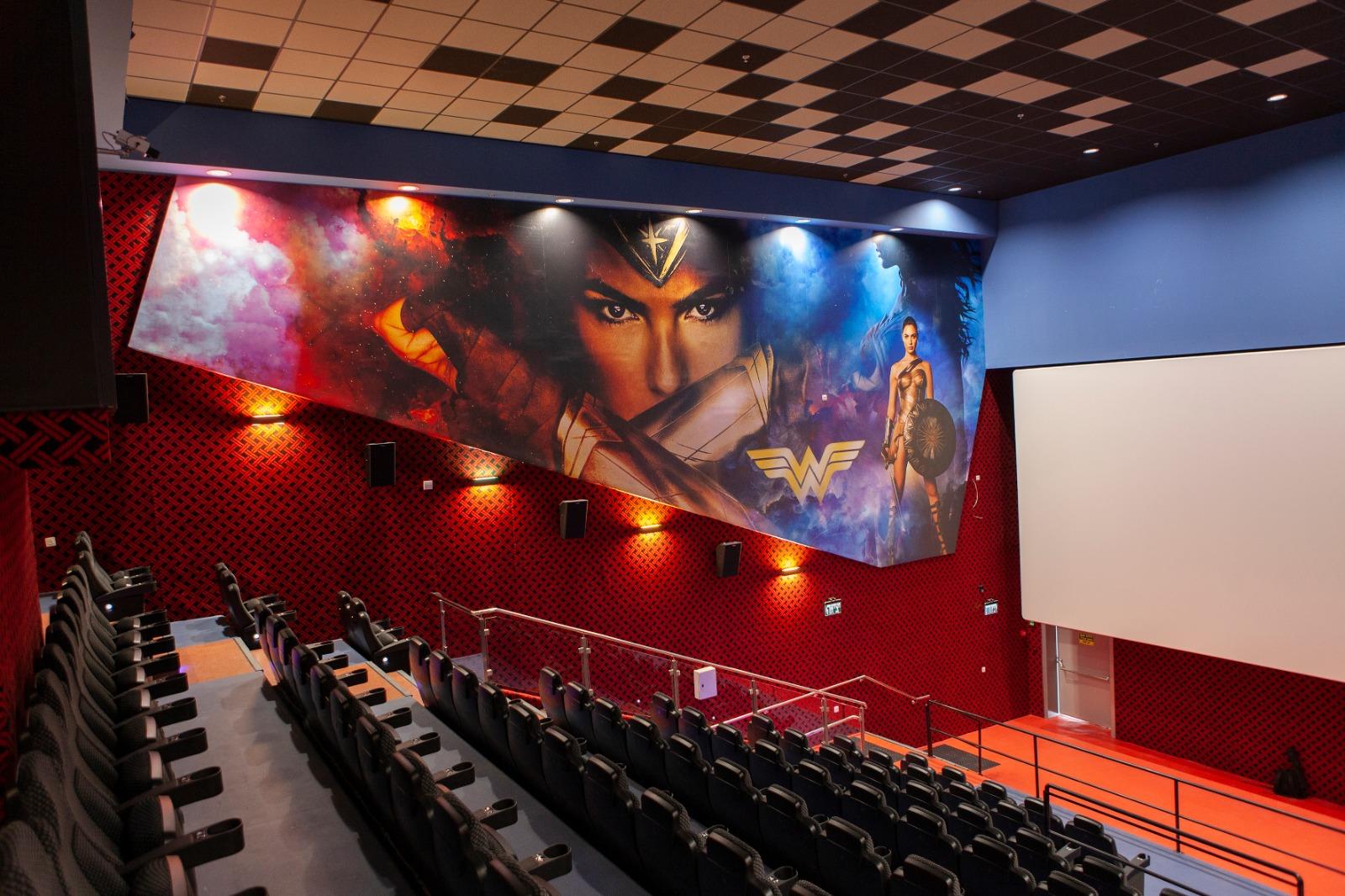 אולמות הקולנוע סינימה סיטי (צילום: דוד חיון)