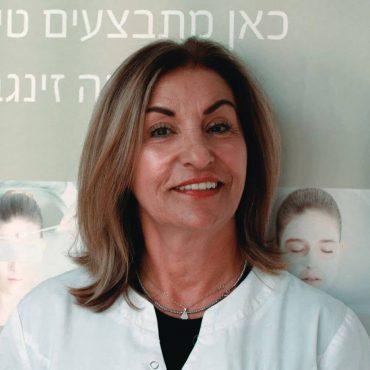 דבי בן ארוש קוסמטיקאית (צילום: ניסים פרץ)
