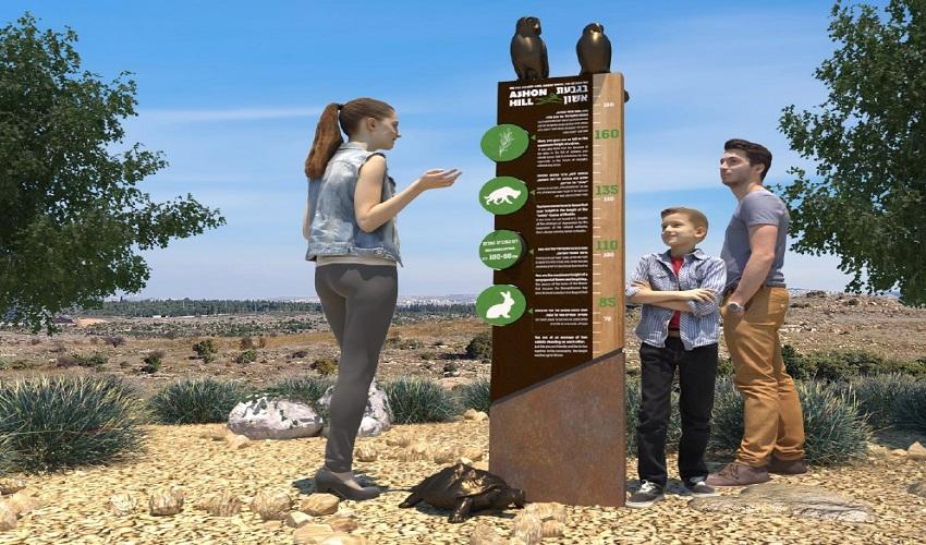 הפארק הארכיאולוגי גבעת אשון (צילום: דוברות עיריית מודיעין מכבים-רעות)