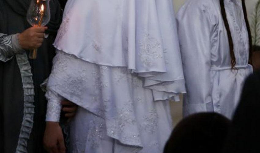 חתונה במאה שערים ביוני 2019 (צילום: חיים גולדברג, אתר כיכר השבת)