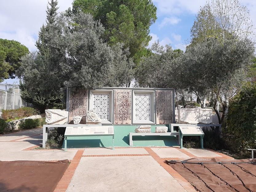 """חלק מהמתחם המוסלמי בגן הארכיאולוגי בכנסת (צילום: ד""""ר אדם אקרמן)"""