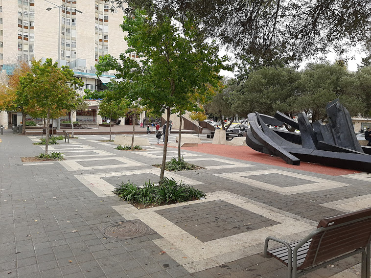 """כיכר דניה (צילום: ד""""ר אדם אקרמן)"""
