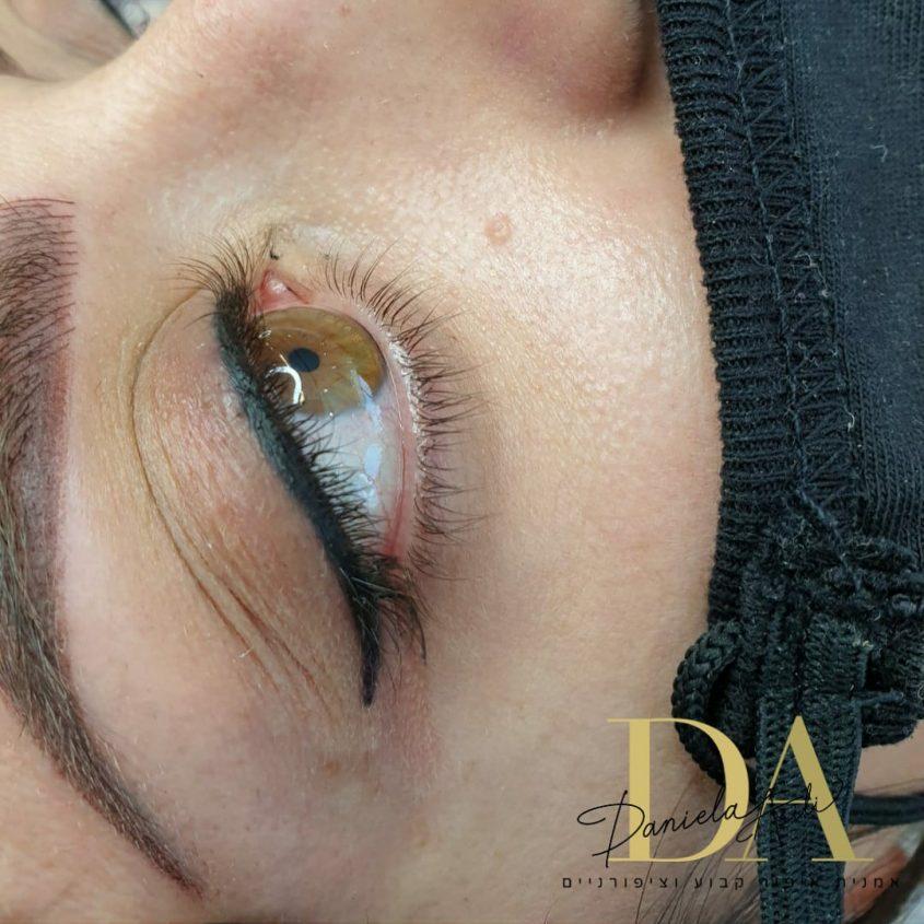 דניאלה עסילי, איפור קבוע אצלך בבית (צילום: פרטי)