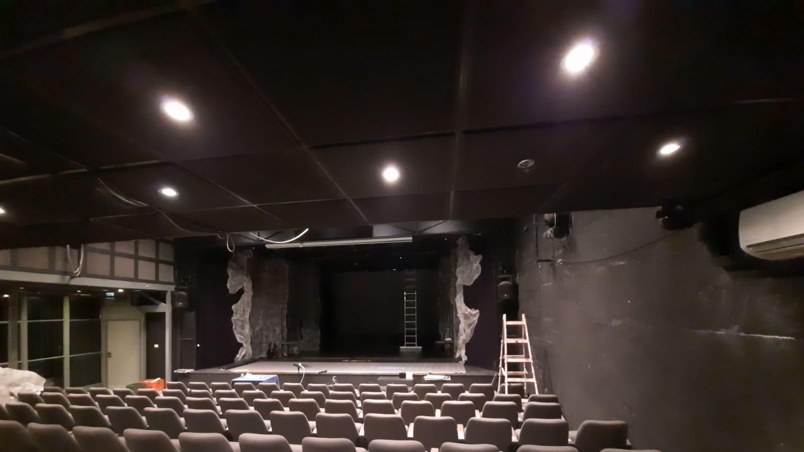 """אולם תיאטרון מיקרו (צילום: יח""""צ)"""