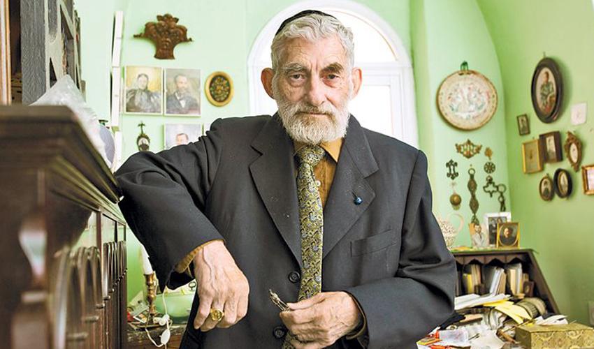 עזרא גורודצקי (צילום: אוליבייה פיטוסי)