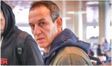עודד קטש בשדה תעופה (צילום: באדיבות האתר הרשמי של הפועל ירושלים)