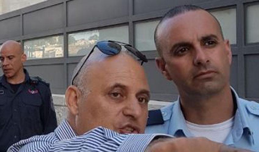 """נצ""""מ שמעון מרציאנו ויהודה בן יוסף בסיור בשנת 2018 (צילום: פרטי)"""