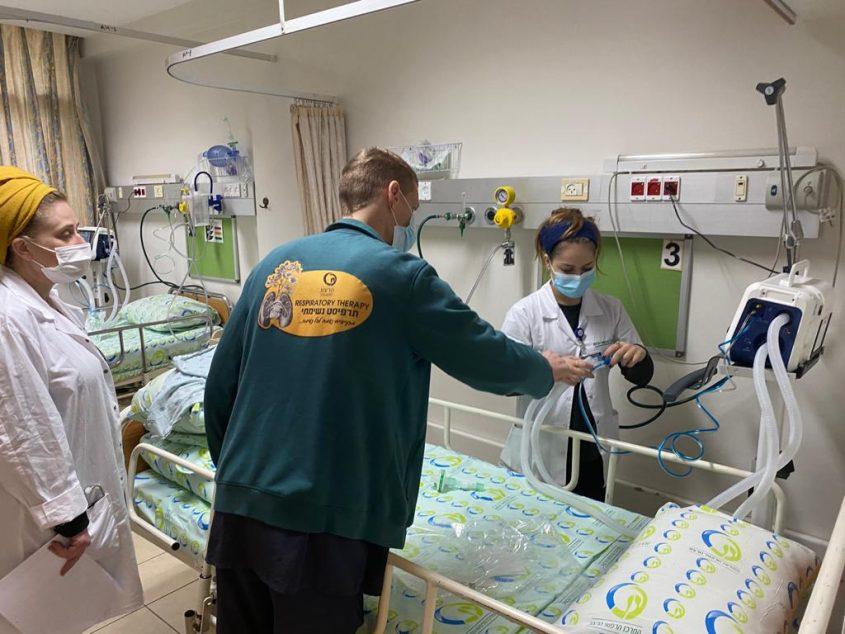 המחלקה החדשה לגמילה מהנשמה שנפתחה היום בהרצוג (צילום: המרכז הרפואי הרצוג)