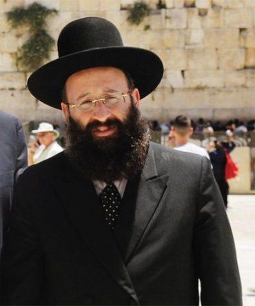 הרב שמואל רבינוביץ (צילום: הקרן למורשת הכותל המערבי)