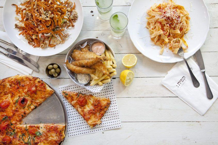 קפית - ארוחה משפחתית (צילום: סטודיו דן לב)