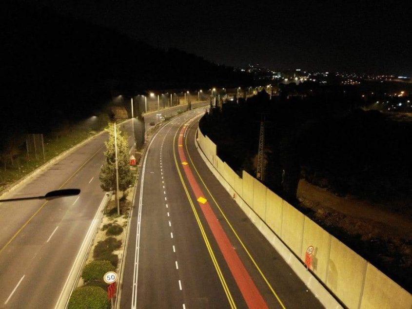 """נת""""צ כביש בגין (צילום: באדיבות חברת מוריה)"""