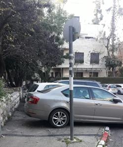 רחוב מולכו, רחביה (צילום: מתוך המכתב של הקליניקה לרגולציה סביבתית, בר אילן)