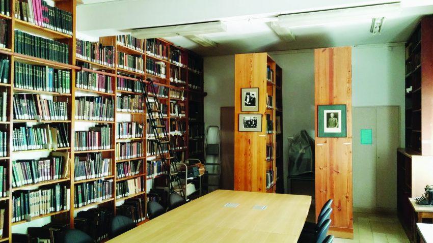 ספריית שוקן (צילום: אדם אקרמן)