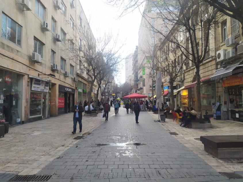 המדרחוב, מרכז העיר ירושלים, היום (צילום: שלומי הלר)