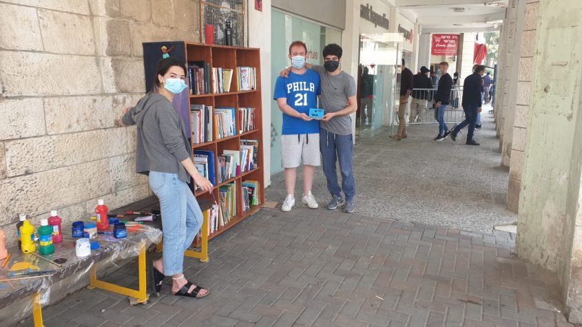 הספריות הקהילתיות החדשות בגבעה הצרפתית (צילום: טנא ירושלמי)