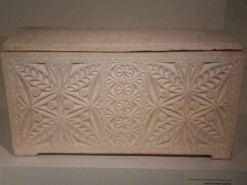 מערת אבה ארון הקבורה של מתתיהו אנטיגונוס (צילום: אדם אקרמן)