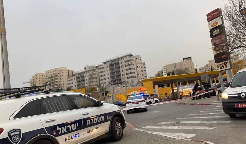 פסגת זאב: צעיר בן 22 נדקר בתחנת דלק, הרקע – פלילי