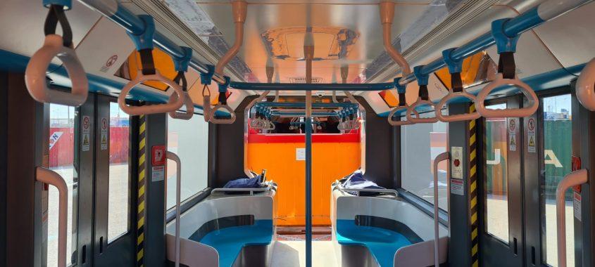 רכבת על גלגלים (צילום: עמוס לוזון צלמים)