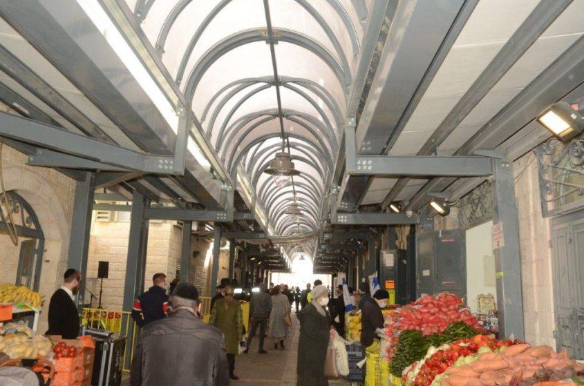שוק הבוכרים המשודרג (צילום: ג'קי לוי)