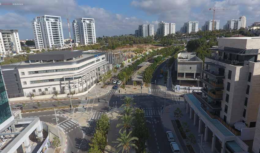 """מע""""ר מודיעין - מרכז העיר (צילום: דוברות עיריית מודיעין מכבים רעות)"""