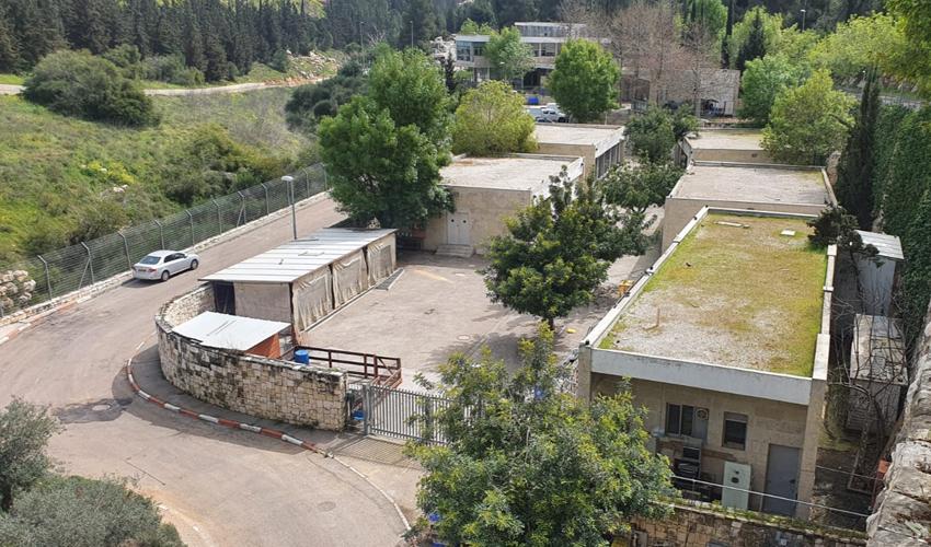 מתחם הווטרינרי העירוני בירושלים (צילום: דוברות עירייה, באדיבות הווטרינר העירוני)