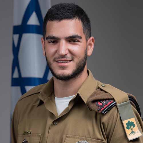 """סמל עומר יעקב (צילום: דובר צה""""ל)"""
