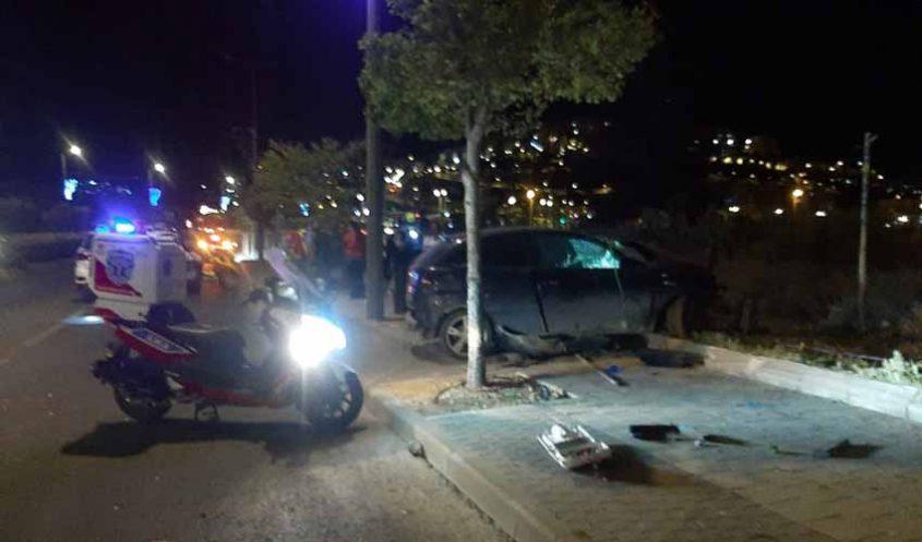 מזירת התאונה בהר חומה (צילום: דוברות איחוד הצלה)