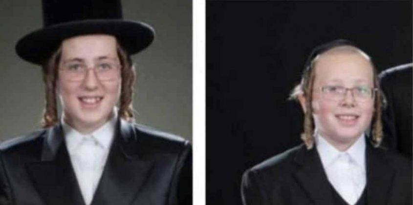 """יהושע אנגלרד ז""""ל ואחיו משה נתן נטע אנגלרד ז""""ל (צילום: פרטי)"""