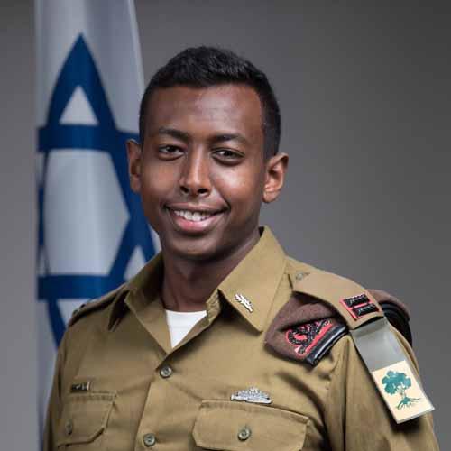 """סגן סמואל דמסשה (צילום: דובר צה""""ל)"""