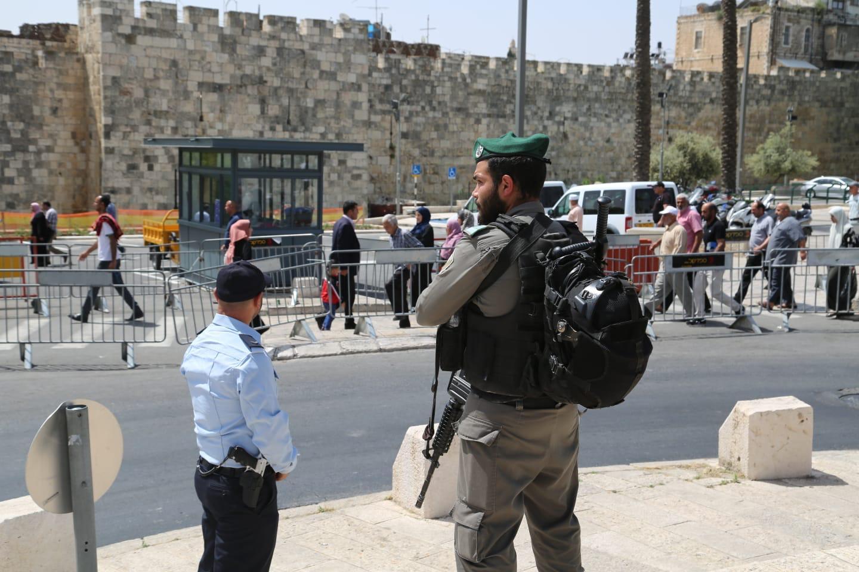 היערכות לקראת חודש הרמדאן בירושלים (צילום: דוברות המשטרה)