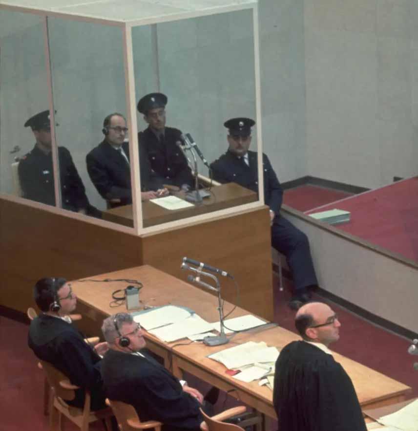 """משפט אייכמן (צילום: ג'ון מילי/לע""""מ)"""