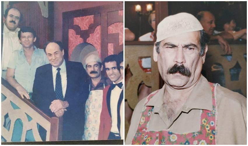 """נעים חכים ז""""ל, שחקני המסעדה הגדולה (צילום: באדיבות המשפחה)"""