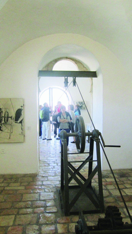 תעלת הקשר, מבקרים במוזיאון הרכבל (צילום: אדם אקרמן)