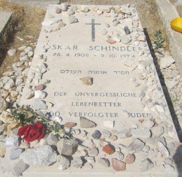 """קברו של אוסקר שינדלר (צילום: ד""""ר אדם אקרמן)"""