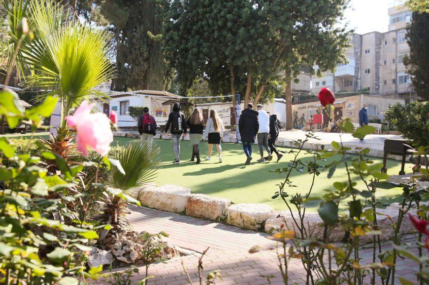 תיכון אורט בית הערבה (צילום: ארנון בוסאני)